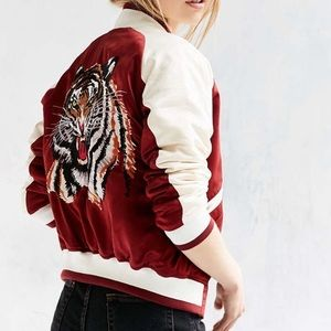 Urban outfitters Tiger bomber
